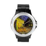 Het Terras van de Koffie van Vincent van Gogh bij Horloge