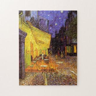 Het Terras van de Koffie van Vincent van Gogh bij Legpuzzel