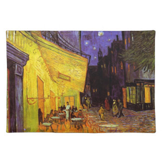 Het Terras van de Koffie van Vincent van Gogh bij Placemat