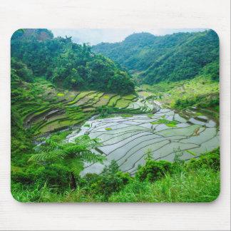Het terraslandschap van de rijst, Filippijnen Muismatten