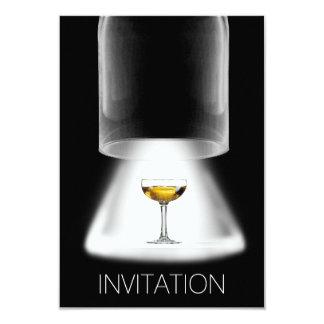 Het Testen van de wijn Vip van de Partij Coctail 8,9x12,7 Uitnodiging Kaart