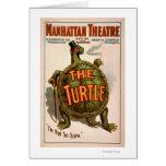 Het Theater New York Broadway van Manhattan de Wenskaart