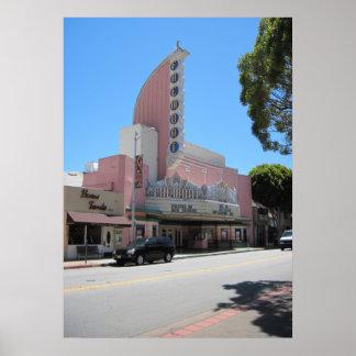 Het Theater van Fremont, 2011, San Luis Obispo Poster