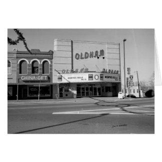 Het Theater van Oldham, Winchester Tennessee Briefkaarten 0