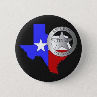 Het Theekransje van de Boswachter van Texas - Ronde Button 5,7 Cm