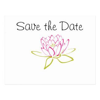 Het Thema van de Dag van het Huwelijk van de Briefkaart
