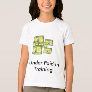 Het tiener Overhemd van de Opleiding T Shirt