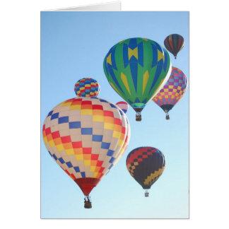 Het Toenemen van de Ballons van de hete Lucht Briefkaarten 0