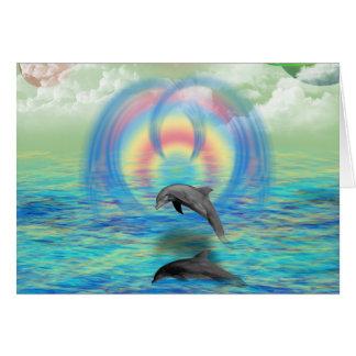 Het Toenemen van de dolfijn Wenskaart