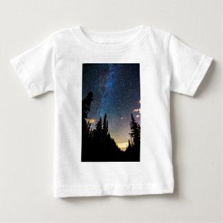 Het Toenemen van de melkweg Baby T Shirts