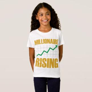 Het Toenemen van de miljonair het T-shirt van