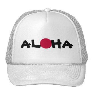 Het Toenemen van Hawaï van Aloha de Japanse Vlag Mesh Petten