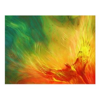 Het Toenemende Art. van Phoenix Briefkaart