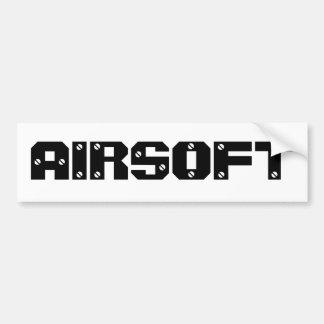 """Het Toestel de """"Sticker van Airsoft van de Bumper Bumpersticker"""