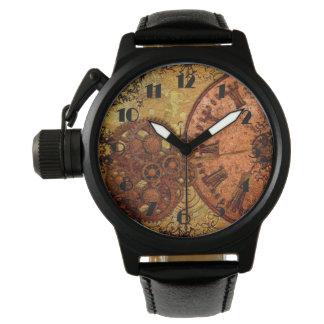 Het Toestel en de Klok van Steampunk van Grunge Horloge