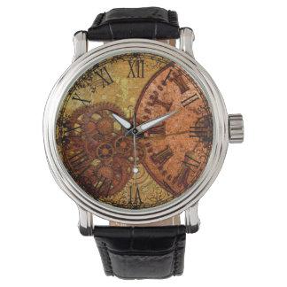 Het Toestel en de Klok van Steampunk van Grunge Horloges