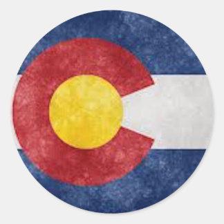 Het Toestel van Colorado Ronde Sticker