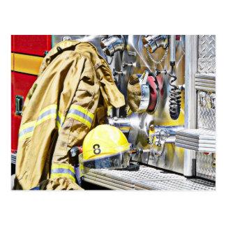 Het Toestel van de Brandweerman van HDR en de Briefkaart