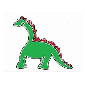 Het Toestel van de dinosaurus Briefkaart