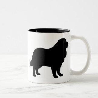Het Toestel van de Hond van de Berg van Bernese Tweekleurige Koffiemok