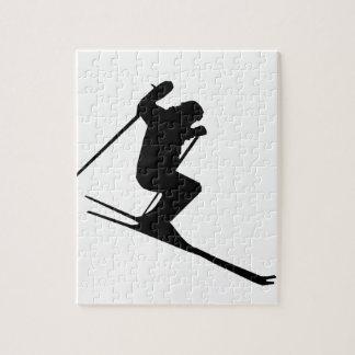 Het Toestel van de ski Puzzel