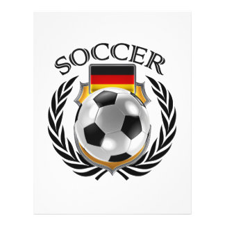 Het Toestel van de Ventilator van het Voetbal 2016 Flyer 21,6 X 27,9 Cm