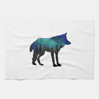 Het Toevluchtsoord van de wolf Theedoek