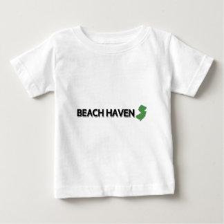Het Toevluchtsoord van het strand, New Jersey T-shirt