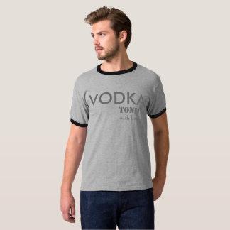 Het Tonicum van de wodka met T-shirt van de Drank