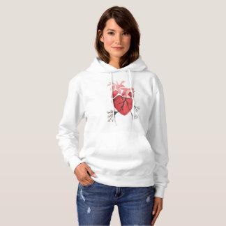 Het tot bloei komende Sweatshirt van het Hart