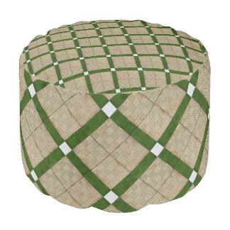 Het traditionele Patroon van Ceramiektegels Poef