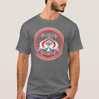 Het transparante Versierd Ontwerp van de Spade T Shirt