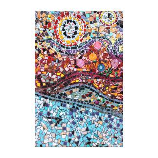 Het trillende Canvas van de Kunst van de Muur van