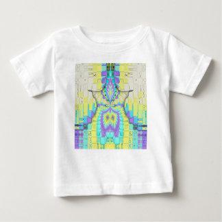 Het trillende Feestelijke Abstracte Patroon van de Baby T Shirts