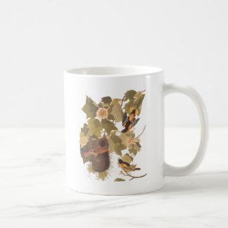 Het Trio van Baltimore Oriole van Audubon Koffiemok