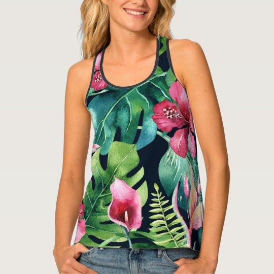 Het tropische Botanische BloemenPatroon van de