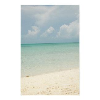 Het tropische Briefpapier van het Strand
