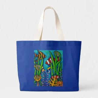 Het tropische Canvas tas van Gemmen