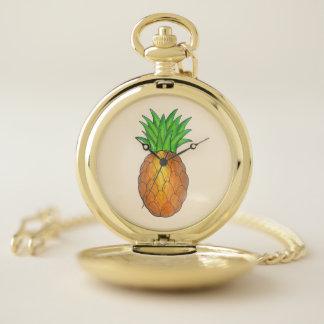 Het tropische Fruit van de Ananas van Luau van het Zakhorloge