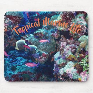 Het tropische Mariene Leven Muismat