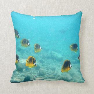 Het tropische OnderwaterHoofdkussen van Vissen Sierkussen