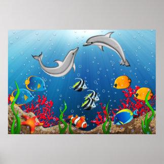 Het tropische OnderwaterPoster van de Wereld Poster