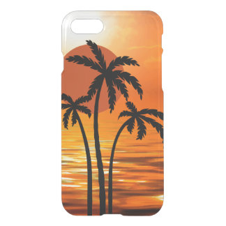 Het Tropische Ontwerp van het Strand van de zomer iPhone 8/7 Hoesje