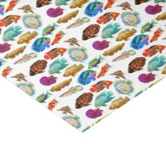 Het tropische Papieren zakdoekje van de Vissen van Tissuepapier