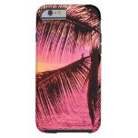 Het Tropische Plaatsen Hawaï van de zonsondergang Tough iPhone 6 Case