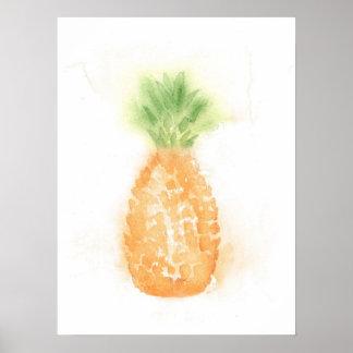 Het tropische Poster van de Ananas