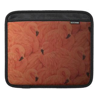 Het tropische Roze Sleeve van Flamingo's iPad