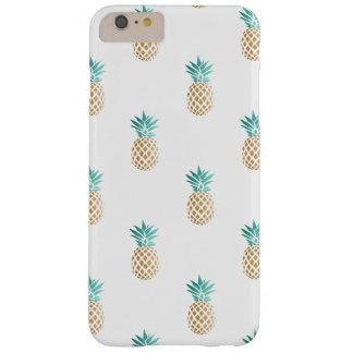 het tropische verse patroon van de de zomer faux barely there iPhone 6 plus hoesje