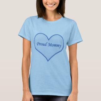 Het trotse Blauwe T-shirt van de Mama,