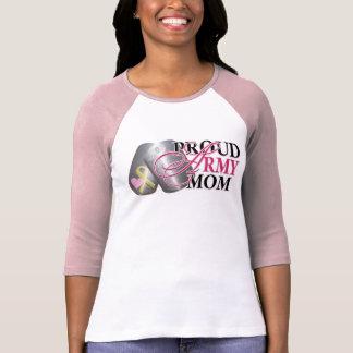 Het trotse Mamma van het Leger T Shirt
